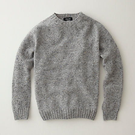 TERRY PULLOVER SWEATER