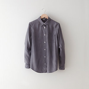 WAVE INDIGO GREY SHIRT