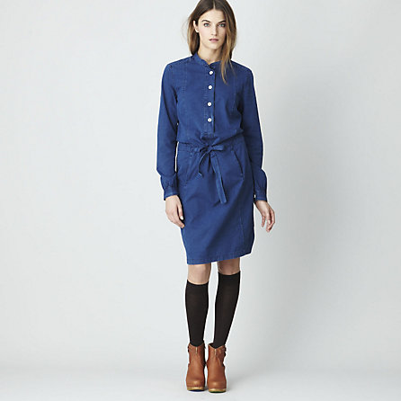 PLACKET SHIRTDRESS