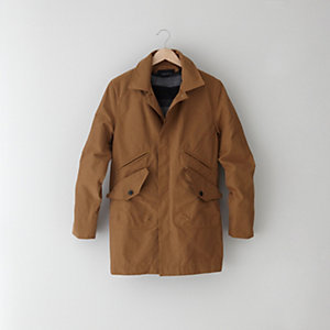 MAC COAT WITH REMOVABLE WOOL LINER