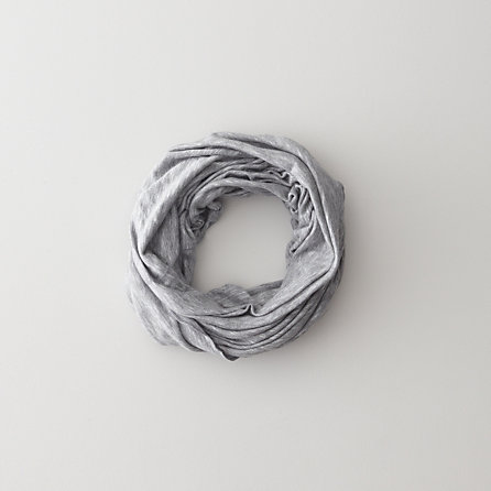RIB LIGHT WEIGHT TUBE SCARF