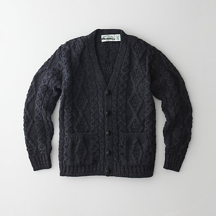 DONEGAL V-NECK CARDIGAN