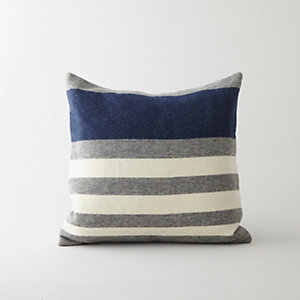 Wool Striped Pillow