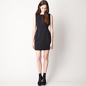 Miller Wool Silk Blend Dress