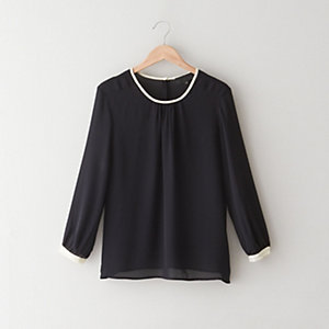 Long Sleeve Contrast Tee