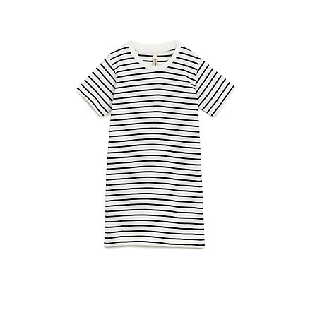 Knee Length Striped Tee
