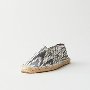 WOMENS HAND WOVEN IKAT ESAPDRILLE SLIP ON