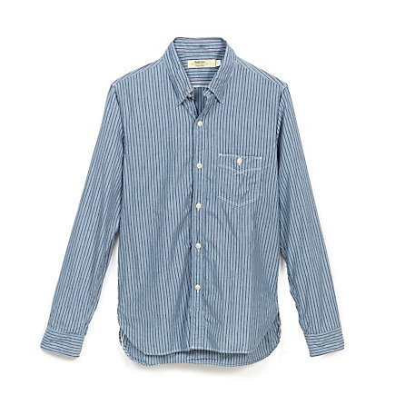 Single Pocket Button Up Shirt