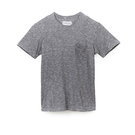 Overdyed Pocket Crew Tee