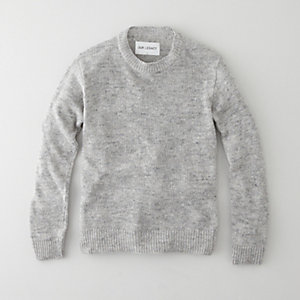 PLAIN ROUND NECK KNIT SWEATER