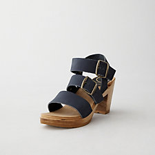 THREE STRAP HIGH HEEL SANDAL