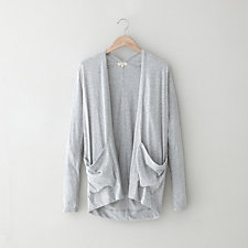 PERRY JERSEY KNIT CARDIGAN