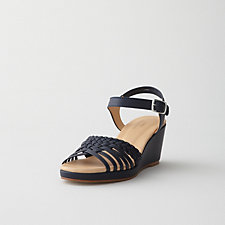BRAIDED WEDGE SANDAL