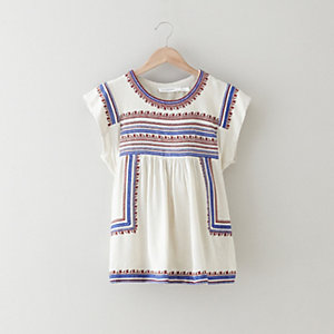 DUMAS EMBROIDERY TOP