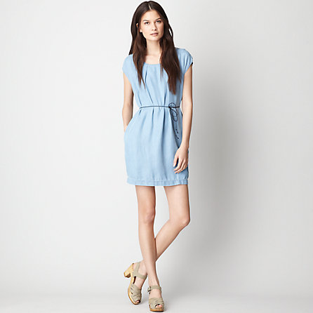 INKY DENIM DRESS