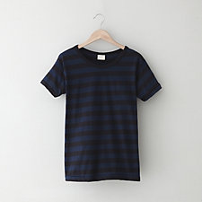 JERSEY STRIPED BOYFRIEND TEE