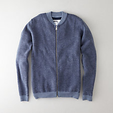 MILANO ZIP UP KNIT