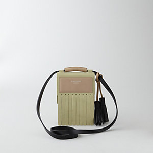 LAURIE LEATHER FRINGE BAG