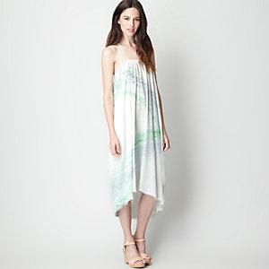 MARBLE LONG STRAP DRESS