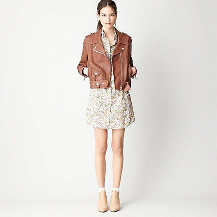MAPE LEATHER MOTO JACKET