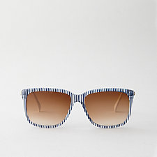 G12 BLUE STRIPE SUNGLASSES