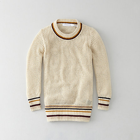 MANRAY OPEN KNIT SWEATER