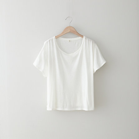 COTTON CASHMERE BOY TEE