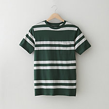 RANDALL DOUBLE STRIPE T-SHIRT