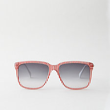 G12 RED STRIPE SUNGLASSES