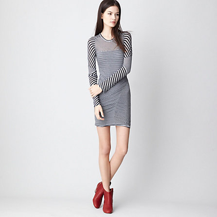 EASTON STRIPE DRESS