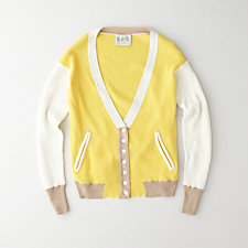 THERMAL KNIT CARDIGAN
