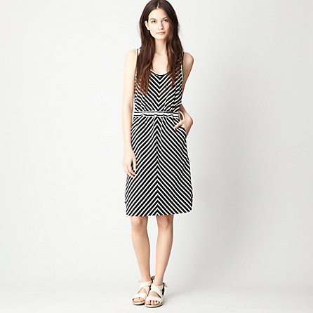 KNIT STRIPE SEDONA DRESS