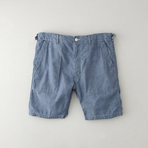 CHAMBRAY FATIGUE SHORT