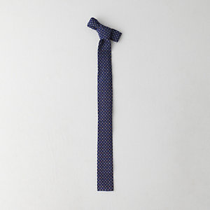 INDIGO SQUARE END TIE