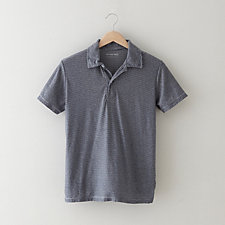SHORT SLEEVE STRIPE POLO
