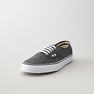 AUTHENTIC BLACK CHAMBRAY SHOE