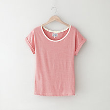 DEEP ROUND NECK T-SHIRT