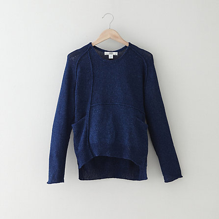 WOOD INDIGO SWEATER