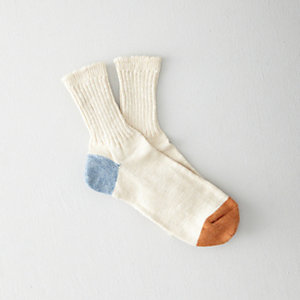 HEMP COLOR PANEL 3/4 SOCK