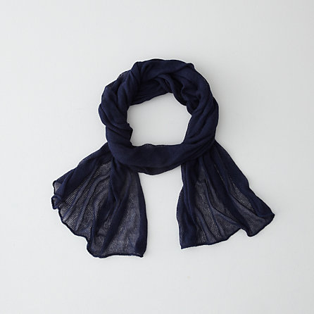 Cotton Cashmere Rectangular Scarf