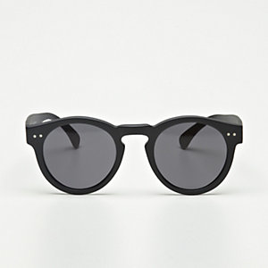 LEONARD MATTE BLACK SUNGLASSES