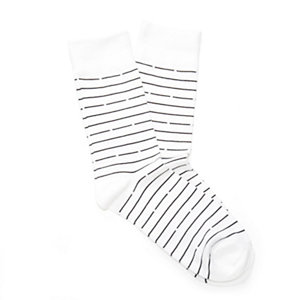 Bandit Striped Socks