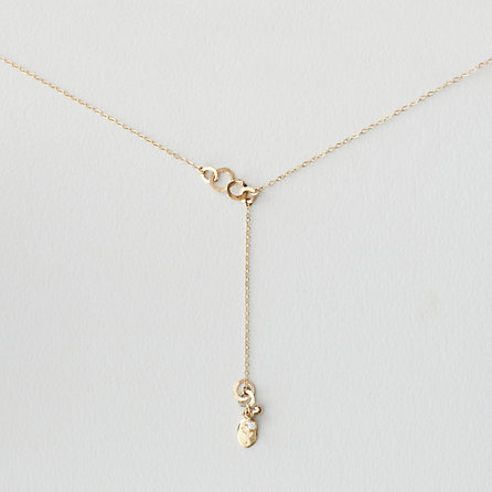 Diamond Seed Lariat Necklace