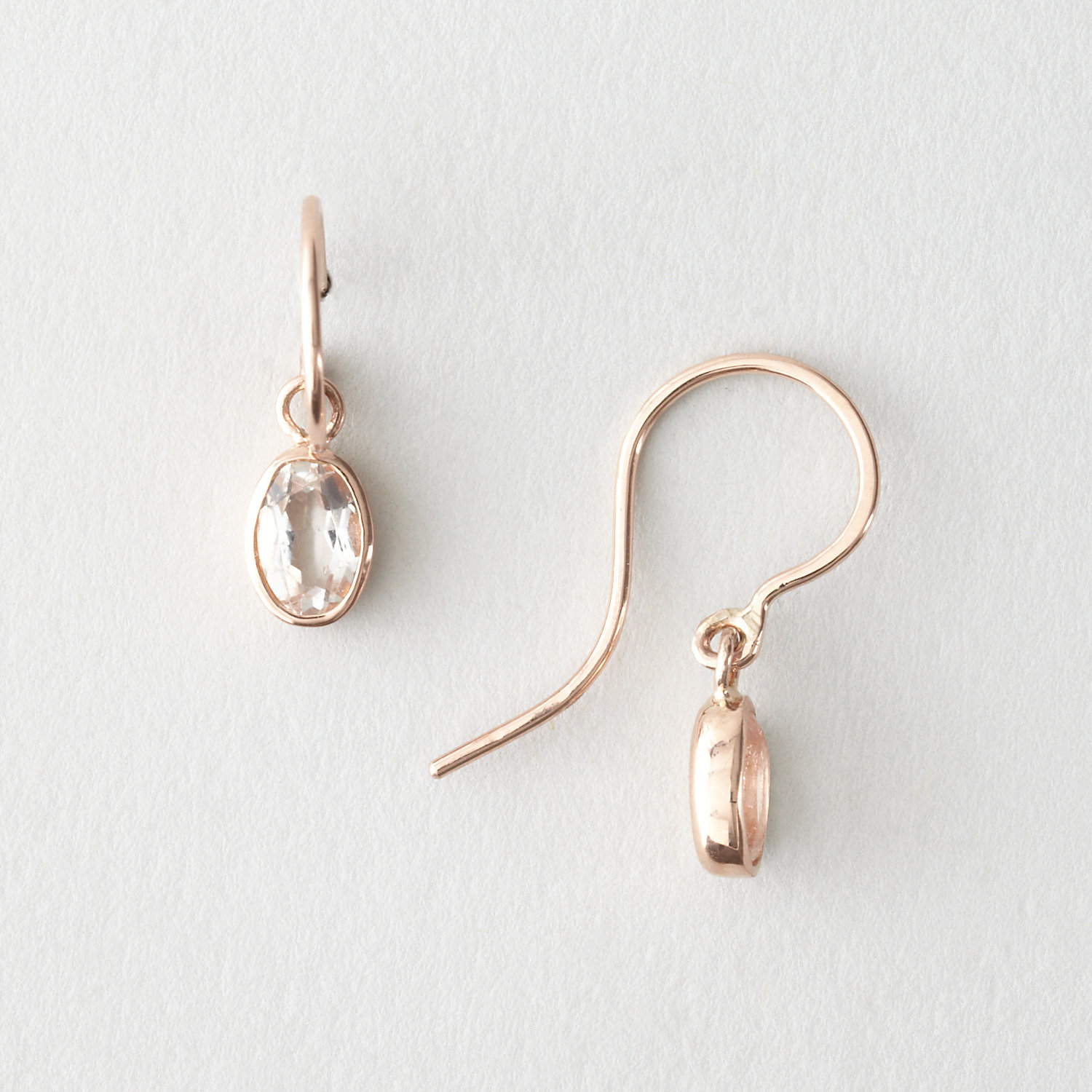 OVAL DROPLET EARRING