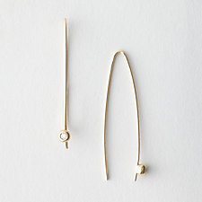 SEED STICK DIAMOND EARRING
