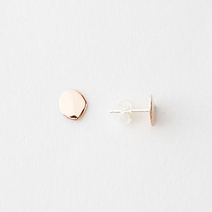 FLAT SEED STUDS ROSE GOLD