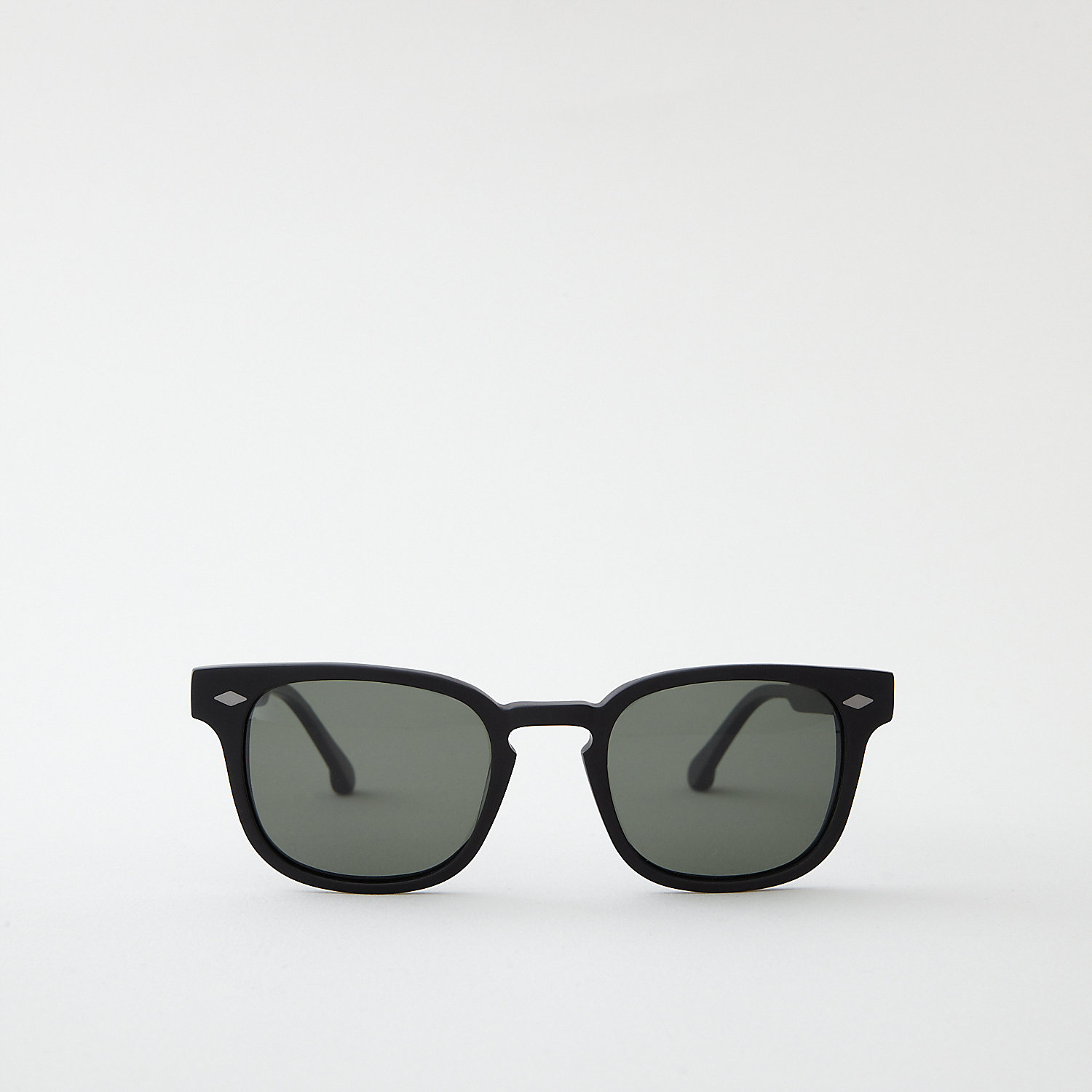 MATTE BLACK MONROE SUNGLASSES