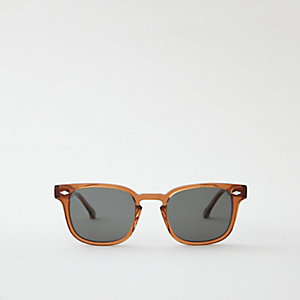 MONROE SUNGLASSES - BURNT SIENNA