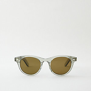 THAYER SUNGLASSES - CRYSTAL BOTTLE GREEN