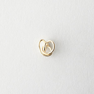 Gold Knot Stud